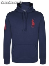 Original Ralph Lauren Herren Sweatshirt Navy/ red new, all sizes