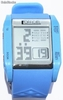 orologio digitale blu in silicone