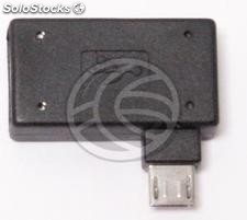 OTG Adapter with MicroUSB powered by left (MH27)