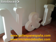 Ourlet iniciales 3D