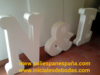 Ourlet iniciales 3D - Foto 1