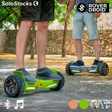 OUTLET Patinete Eléctrico Hoverboard Bluetooth con Altavoz Rover Droid Stor 190