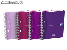 Oxford cuaderno oxford beauty a5 cuadricula 5x5mm 80 hojas surtidos 100101371