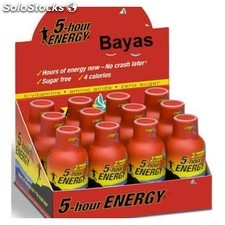 Pack 12 u. 5 hours energy sabor bayas