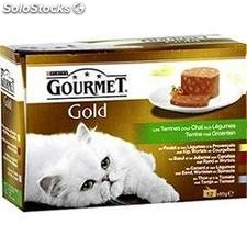 Pack 12X85G assortiment terrines gold gourmet
