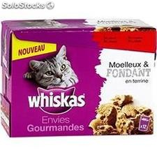 Pack 12X85G envie gourmande moelleuse fondant whiskas