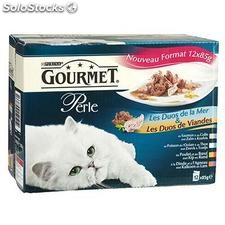 Pack 12X85G perle duos gourmet purina one