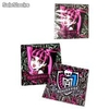 Pack 15 Servilletas Desechables Monster High