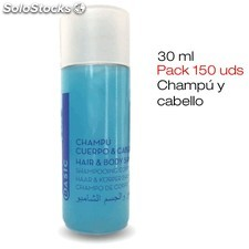 Pack 150 tubos de Gel & Champú BASIC de 30 ml