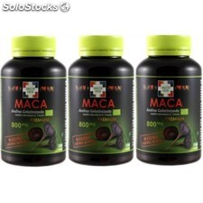 Pack 2 +1 maca andina gelatinizada 100 capsulas amazon green