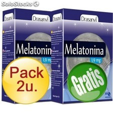 Pack 2+1 melatonina 1 mg 60 Comprimidos