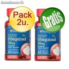 Pack 2+1 ubiquinol 60 Capsulas 50 mg