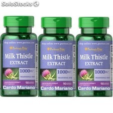Pack 2+1CARDO mariano 1000 mg 90 capsulas Milk Thistle