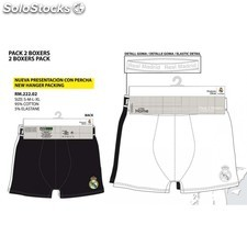 Pack 2 boxers real madrid talla xl