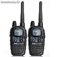 Pack 2 unidades Walkie Talkies G7E Pro Midland PMR446
