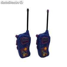 Pack 2 Walkie Talkies de juguete