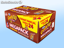 Pack 24X20CL brick chocolat candy up candia