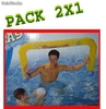 PACK 2X1 Diversion en tu Piscina. 2x1 Porterias de Agua WaterPolo para Piscinas