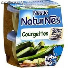 Pack 2X130G naturnes courgettes nestle