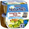 Pack 2X200G naturnes courgette/riz/dinde nestle