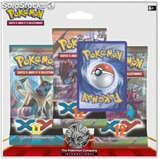 Pack 3 boosters pokemon XY13