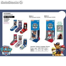 Pack 3 Calcetines Patrulla Canina 4Pack T.27/30-31/34