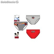 Pack 3 slips mickey mouse (mod. 3018) talla 6-8 años