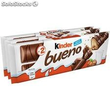 Pack 3X2 barres kinder bueno