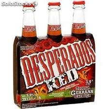 Pack 3X33CL new desperados red