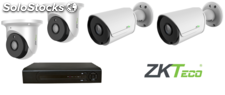 Pack 4 Cameras 2MP intérieur +dvr 4ch 2MP ahd
