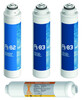 Pack 4 Filtros Osmosis Inversa Compacta FT + Inline Plata