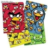 Pack 4 Fundas Folio Angry Birds (A4)