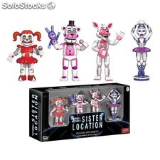 Pack 4 minifiguras Five Nights at Freddy's Sister Location