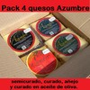 Pack 4 Quesos 2,8 kg.