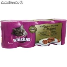 Pack 4X1/2 agneau whiskas