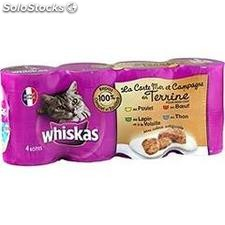 Pack 4X1/2 lapin whiskas