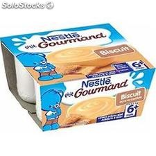 Pack 4X100G p'tit gourmand creme biscuit nestle