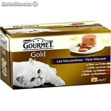 Pack 4X85G coffret poisson gold
