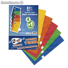 Pack 5 cuadernos oxford -