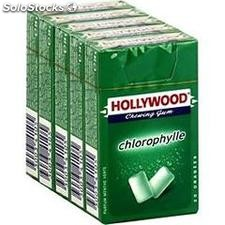Pack 5 etuis 20 dragees chlorophyle hollywood