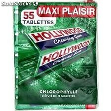 Pack 5 etuis tablettes chlorophyle hollywood