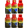 Pack 5 hour Energy Sabores Variados 6 shot x 58 ml