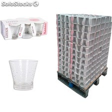 Pack 6 vasos 250cc lotus bubbles - lotus - bubbles - 8435476200340 - PAL829664