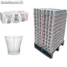 Pack 6 vasos 250cc lotus honey - lotus - honey - 8435476200319 - PAL829661
