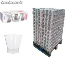 Pack 6 vasos 250cc lotus plain - lotus - 8435476200302 - PAL829660