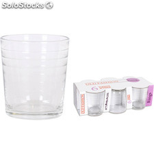 Pack 6 vasos agua 27CL old fashion rings - old fashion - rings - 8435133889048 -
