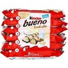 Pack 6X2 barres bueno white kinder