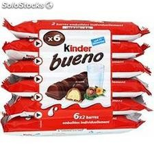 Pack 6X2 barres kinder bueno