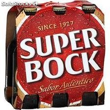 Pack 6X25CL biere super bock 5.6°