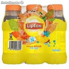 Pack 6X25CL ice tea peche liptonic